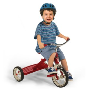 Child on Ride on Toy