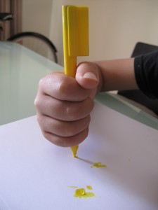 Fisted Grasp - Child Writing