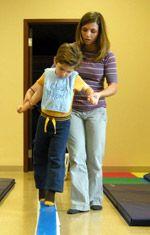Hemiplegia physio treatment child