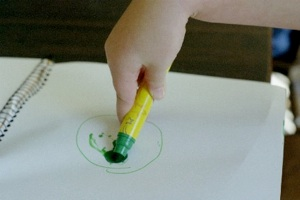 Palmar Grasp - Children Writing