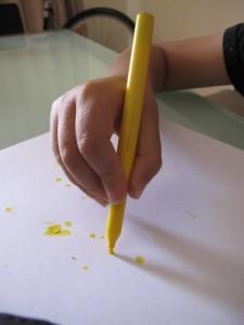 Static Tripod Grip - Children Writing